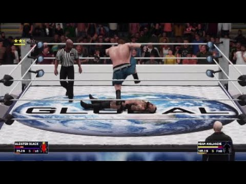 WWE 2k18 Universe Mode Ep.42 Global Wrestling from Montreal,Canada.