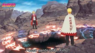 Naruto revela Jutsu que usou uma vez capaz de prever Jutsus proibidos - Boruto