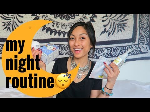 SCHOOL NIGHT ROUTINE 2018 // for the busy student