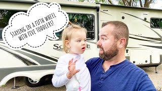 Traveling With Toddlers - Big Family Adventure