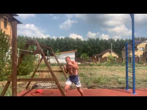Уличная тренировка Александра Шлеменко с квадроциклом