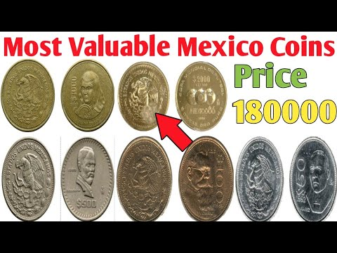 Mexico Most Valuable Coins Value And Price | Rare Mexico Coins Value | Old Mexico Coins Value
