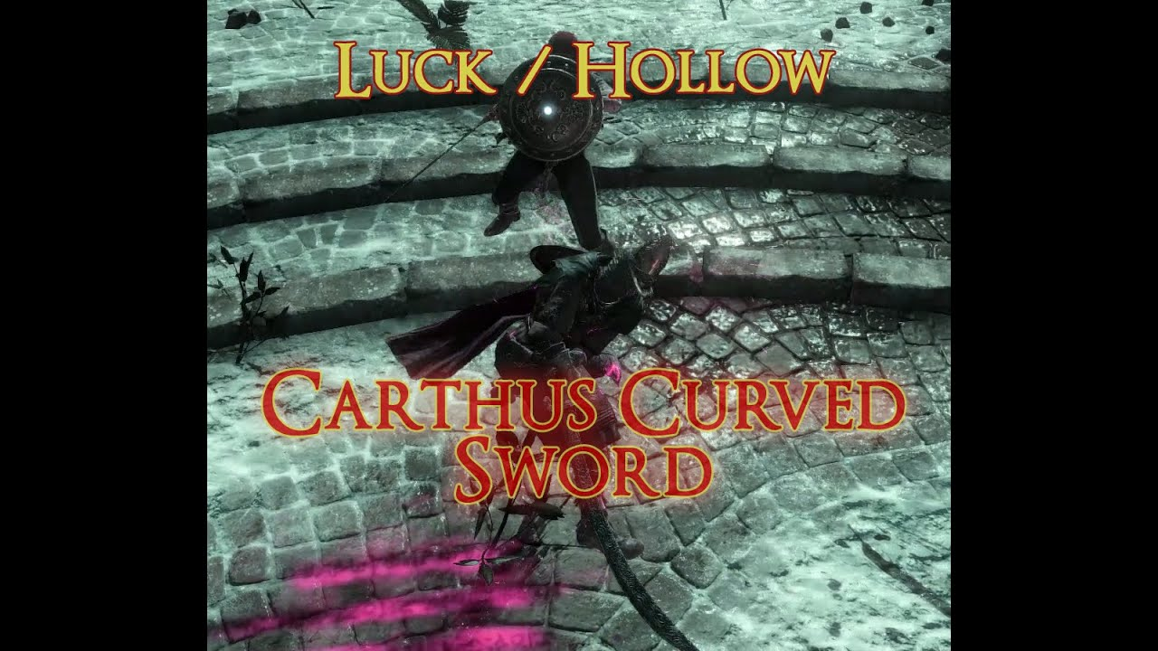 Curved Sword Build Dark Souls
