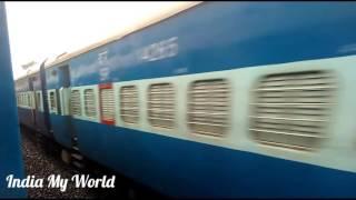 Indian Railway Speed In Mansoon   Action Of  Konkan Railway Route