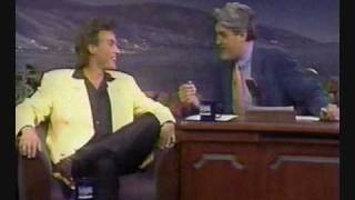 Van Damme on Jay Leno (Hard Target) Part 1