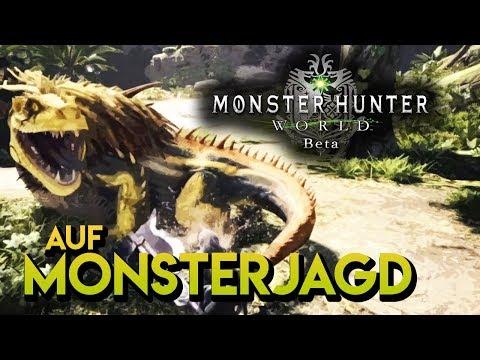 Auf MONSTERJAGD mit der BETA [Monster Hunter World] | LAS GAMING