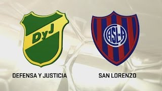 Defensa y Justicia vs San Lorenzo full match
