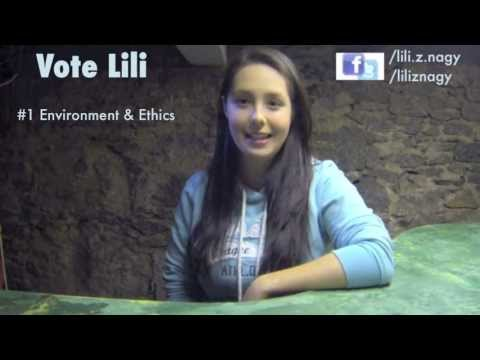 Vote Lili Nagy your AUSA Environment and Ethics President