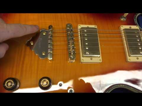 how and where to adjust string action on different types of electric guitar bridges youtube. Black Bedroom Furniture Sets. Home Design Ideas