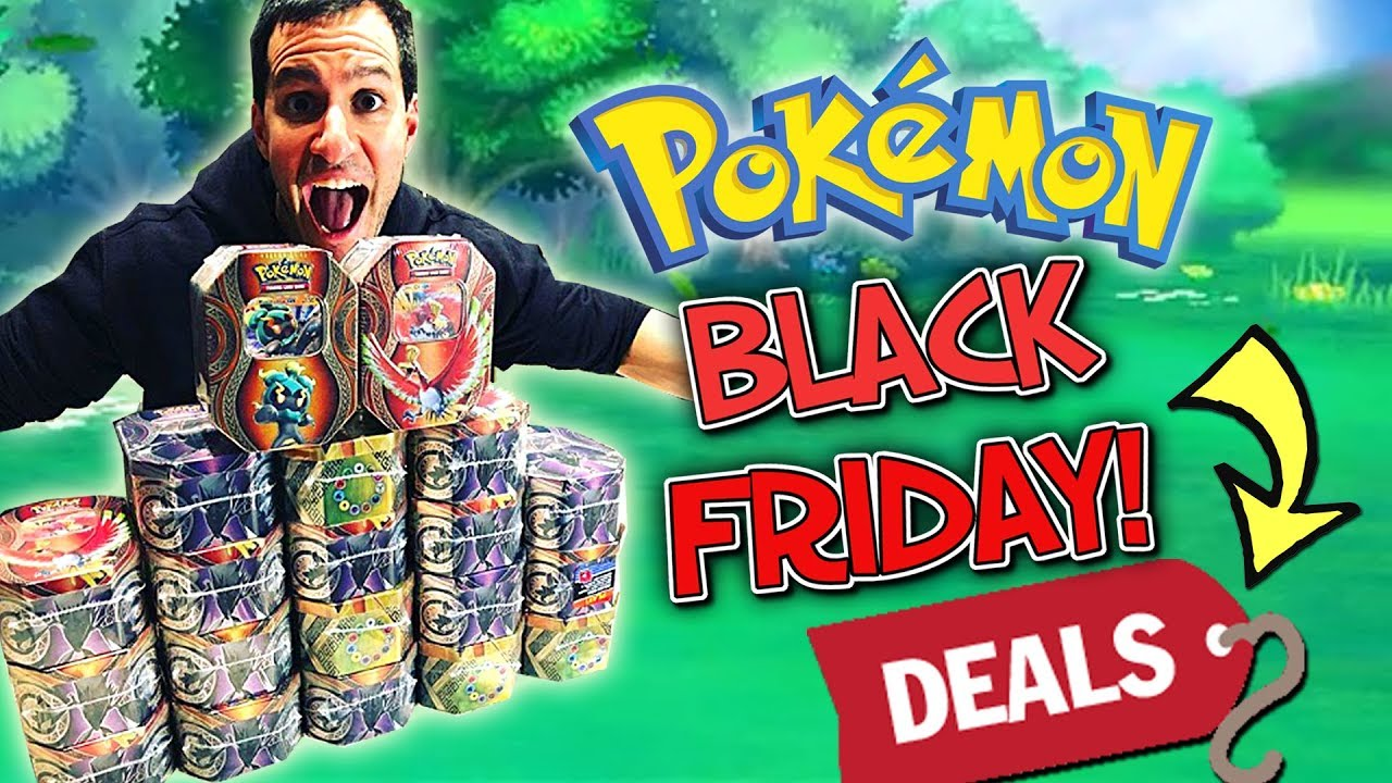 BLACK FRIDAY 2018! - CHEAP POKEMON CARDS at TARGET, BEST BUY and GAMESTOP! (Black Friday Deals)