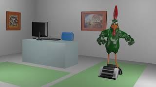 Animasyon 3D Filmi ve Horoz 3D Show