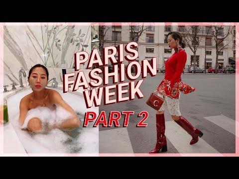 PFW Part 2: Patrick Ta Tips, Chloe, Margiela & Isabel Marant   Vlog #77   Aimee Song