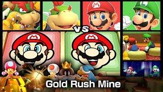 Super Mario Party Gold Rush Mine ◆ Bowser and Bowser Jr. vs Mario and Luigi (Master CPU) #4