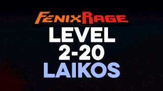 Fenix Rage Level 2-20 Laikos
