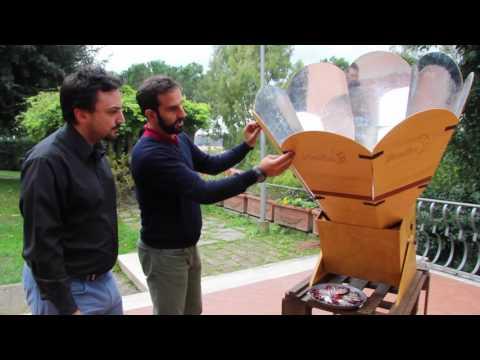 Helio, il forno solare