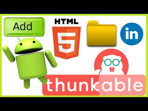 How to add html file in thunkable [ Hindi | Urdu ]