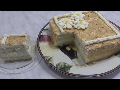 ЛИМОННЫЙ Крем на Манке. Крем для тортов и пирожных. Кулинария.Рецепты.
