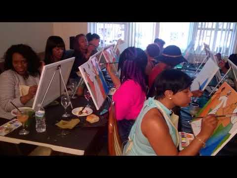 MOBILE ART PARTY ATLANTA METRO AREA