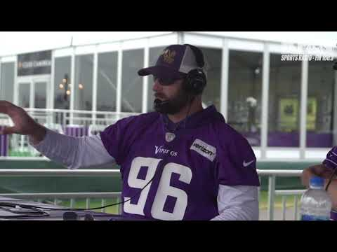 Allen's Page - WATCH: Brian Robison joins PA on the Perch at Training Camp | KFAN 100.3 FM