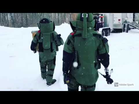 Montenegrin Explosive Ordnance Disposal Responders Visited Maine