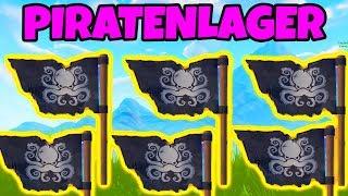 Fortnite: Besuche alle Piratenlager!   Season 8 Woche 1 Herausforderung