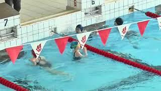 Урок по плаванию для третьеклассников.