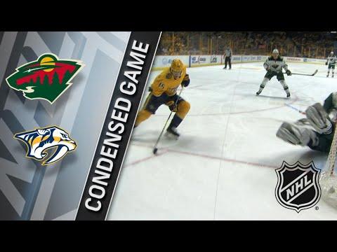 03/27/18 Condensed Game: Wild @ Predators