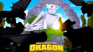 WHITE NIGHTFURY IS THE KING OF ALL NIGHTFURIES?! How To Train Your Dragon w/Tinyturtle