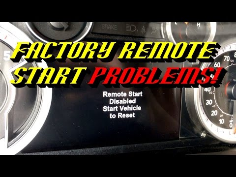 Why Your Factory Remote Start System is Disabled!