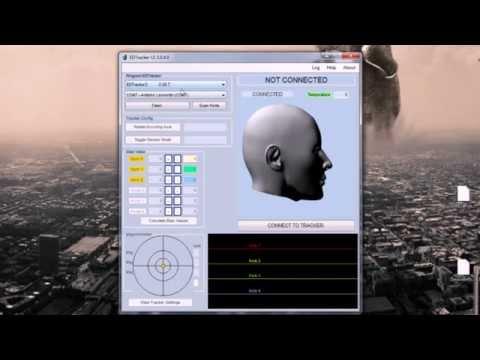 EDTracker Flash & Calibrate (GUI v3 / Magnetometer)