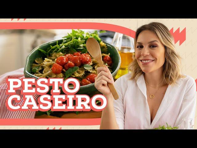 MASSA COM PESTO CASEIRO com ATÉ R$50 | DEB COZINHA | Go Deb