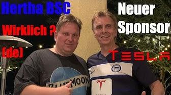 Hertha BSC Sponsor Tesla. Wirklich? (de)