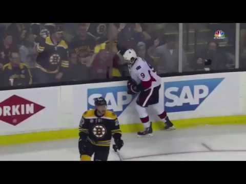 Pierre McGuire questions Tim Peel calling a penalty on Bruins in OT