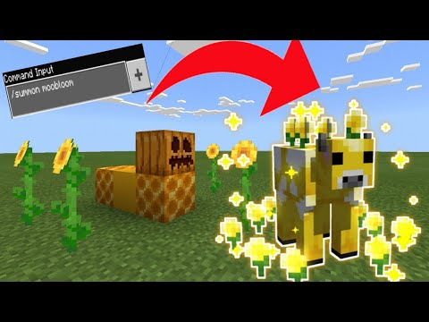 How to summon moobloom in Minecraft