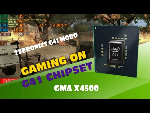 Games Running On G41 (GMA X4500) Graphics Motherboard.
