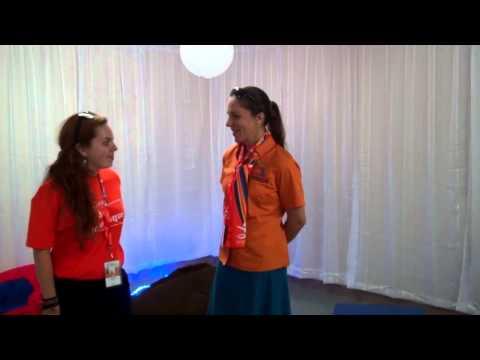 Rencontre Avec Heidi Levasseur, Représentante Des Athlètes Féminins, Aux Jeux Du Québec 2012