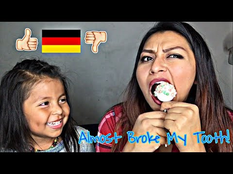 Mexican/Americans Try German Snacks!