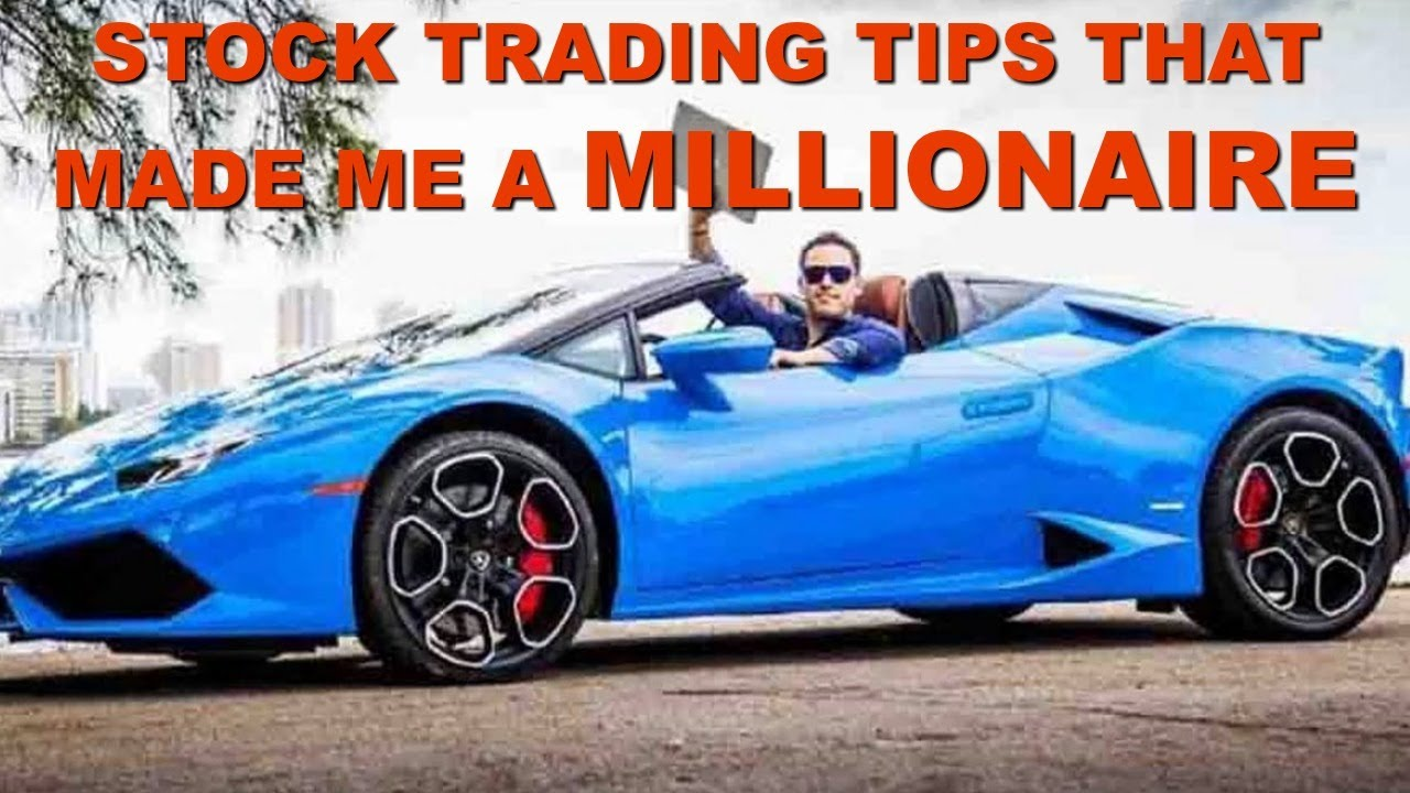 Stock Trading Tips For Beginners That Helped Make Me A Millionaire