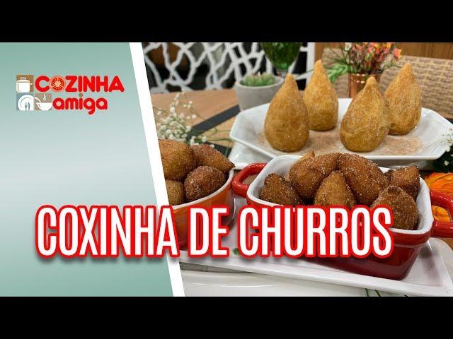Coxinha de Churros - Alê Peruzzo | Cozinha Amiga (14/02/19)