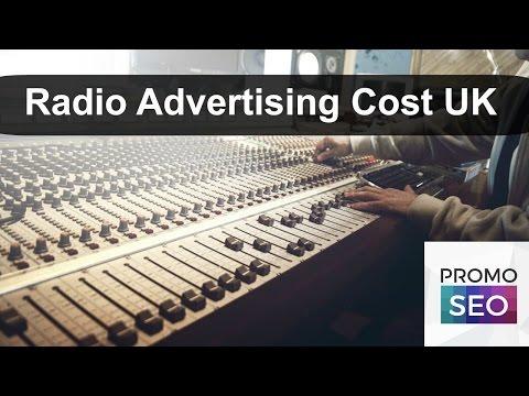 Radio Advertisement Cost UK