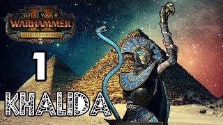 Избранная Богиней Аспидов - Цари Гробниц - Total War Warhammer II - Халида #1