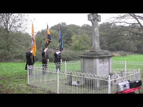 Armistice Day in Harlow Nov 11th 2013