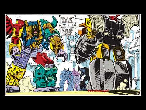 #Transformers IDW:Omega Supreme Vs Monstructor!From Transformers RID2012 Annual!