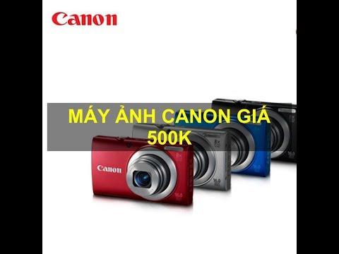 Canon A4000 IS , Máy ảnh 500k