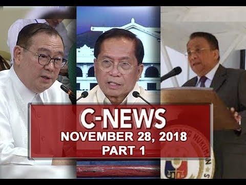 UNTV: C-News (November 28, 2018) PART 1