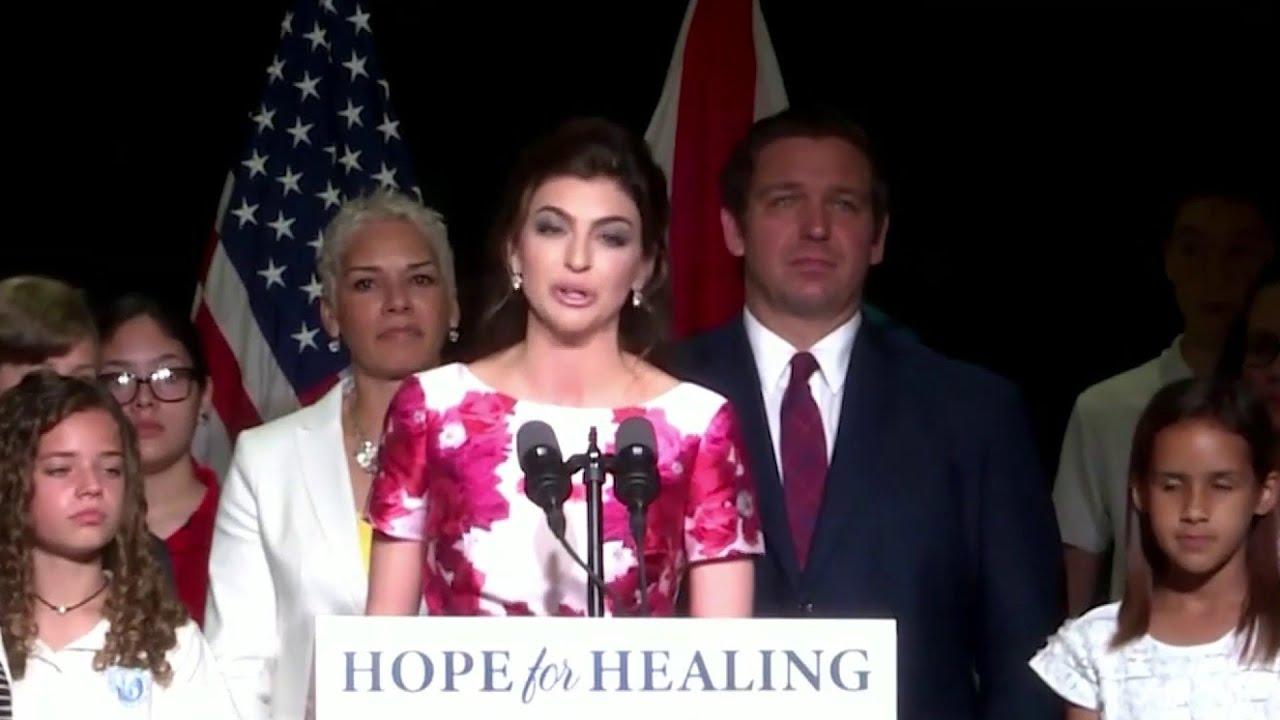 Florida Gov. Ron DeSantis says wife Casey DeSantis diagnosed ...