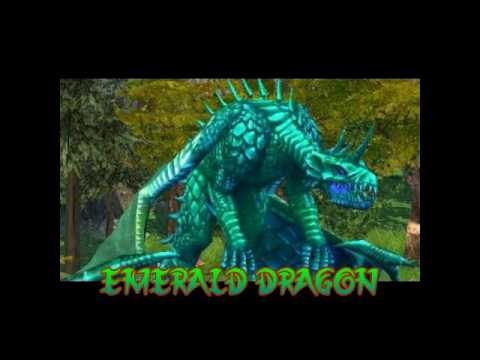 how to make emerald dragon