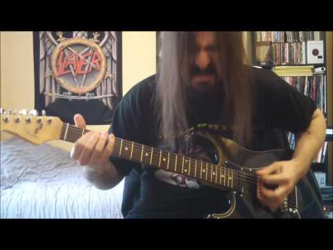 Slayer - Angel Of Death - Guitar Cover - Full HD