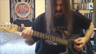 Slayer - Angel Of Death - guitar cover - Full HD