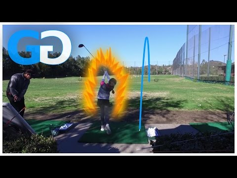 Golf Tip: HOW TO HIT UP ON A DRIVER with JUNIOR GOLFER